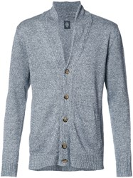Eleventy Button Up Cardigan Grey