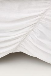 Anthropologie Georgina Bed Skirt White