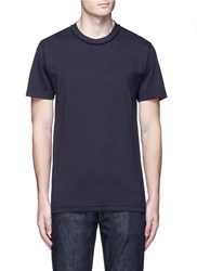 Covert Relaxed Fit Cotton T Shirt Blue