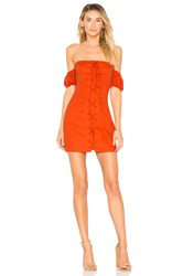 Ale By Alessandra X Revolve Rosario Dress Burnt Orange