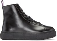 Eytys Black Kibo High Top Sneakers