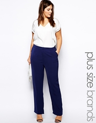 Truly You Soft Tailored Trouser Navy