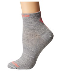 Pearl Izumi Elite Wool Sock Limestone Women's Crew Cut Socks Shoes Multi