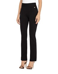 Tahari By Arthur S. Levine Plus Skinny Leg Pants Black
