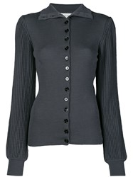 Christophe Lemaire Knitted Pleated Cardigan 60