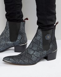 Jeffery West Sylvian Chelsea Boots Blue