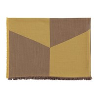 Muuto Sway Throw 180X130cm Mustard