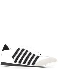 Dsquared2 Stripe Detail Low Top Sneakers 60