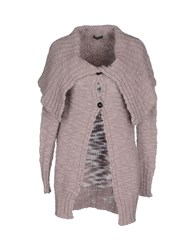 Fred Perry Knitwear Cardigans Women Dove Grey