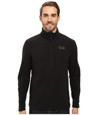 Mountain Hardwear Microchill 2.0 Zip T Black Men's Long Sleeve Pullover