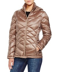 Calvin Klein Packable Lightweight Down Jacket Compare At 150 Shine Taupe