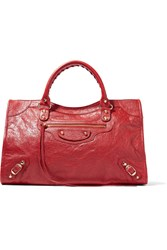 Balenciaga Classic City Textured Leather Tote One Size