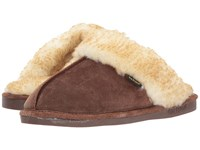 Old Friend Buffy Chocolate Slippers Brown