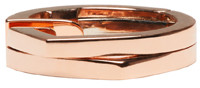 Repossi Rose Gold 2 Rows Antifer Ear Cuff