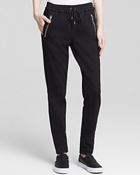 Joe's Jeans Pants Off Duty Karlie Street Zip Slim Jogger