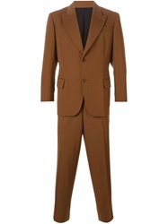 Jean Paul Gaultier Vintage Double Button Suit Brown