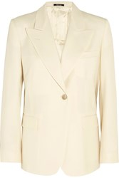 Maison Martin Margiela Wool Blend Blazer Cream