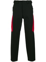 Alexander Wang Panelled Trousers Cotton Nylon S Black