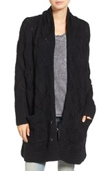 Hinge Women's Texture Stitch Open Cardigan