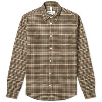 Soulland Logan Flannel Shirt Brown