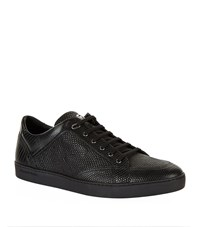 Stefano Ricci Signature Lizard Sneakers Male Black