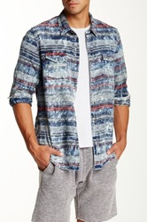 Artisan De Luxe Owen Printed Long Sleeve Shirt Multi