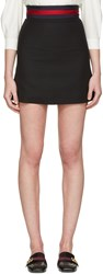 Gucci Black Simple Miniskirt