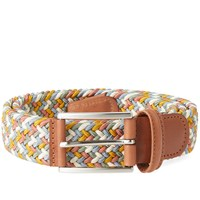 Andersons Anderson's Woven Textile Belt White