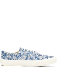 Ymc Low Top Trainers Blue