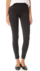Spanx Look At Me Now Cropped Seamless Leggings Very Black