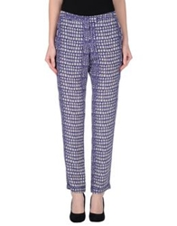 Richard Nicoll Casual Pants Dark Purple