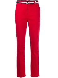 Tommy Hilfiger Belted Straight Leg Trousers 60