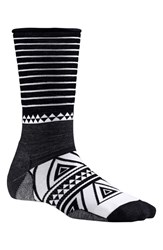 Smartwool Women's 'Camp House' Crew Socks Black