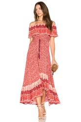 Nightcap Samba Gown Red