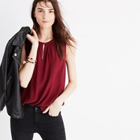 Madewell Memory Tank Top Dusty Burgundy