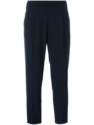 Erika Cavallini Semi Couture 'Julius' Capri Trousers Blue