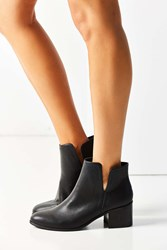 Urban Outfitters Lourdes Cutout Ankle Boot Black