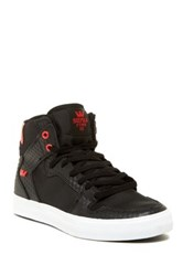 Supra Vaider High Top Sneaker Black