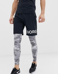 Bjorn Borg Performance August Shorts Black
