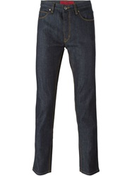 Hugo Hugo Boss Straight Leg Jeans Blue