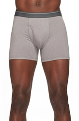 The Rail Heathered Boxer Briefs Medium Heather Grey