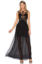 Three Floor Portman Gown Black