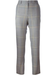 Each X Other Prince Of Wales Check Trousers Black