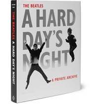 Phaidon The Beatles A Hard Day's Night A Private Archive Hardcover Book Black