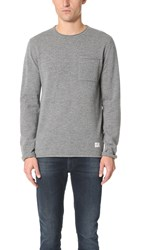 Penfield Alson Crew Sweater Grey