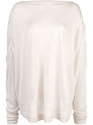 Dusan Relaxed Fit Sweater Neutrals