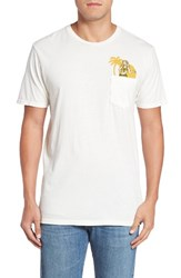 Rip Curl Men's Cocoa Graphic Pocket T Shirt