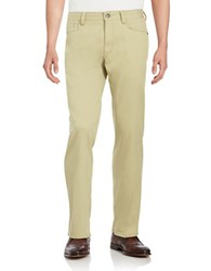 Tommy Bahama Collins Five Pocket Pants Khaki