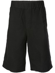 Rta Tapered Shorts Black