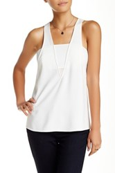 Cooper And Ella Sydney Bandeau Tank White
